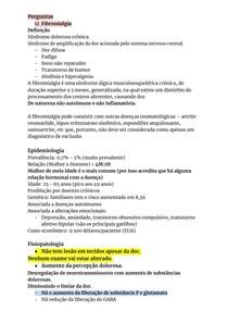 FIBROMIALGIA, DOR MIOFASCIAL E SÍNDROME DA DOR COMPLEXA REGIONAL
