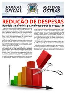 Diário Oficial de Rio das Ostras número 1183
