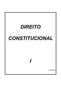Apostila Dir Constitucional I