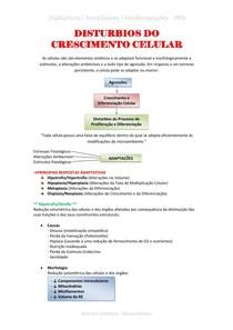 Resumo - Malformações e Neoplasias 4ª PROVA