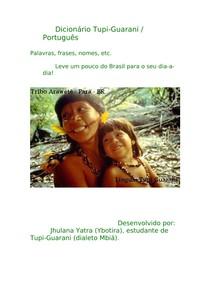 Dicionario Tupi Guarani Idiomas