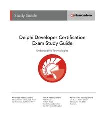 delphi developer certification study guide - Algoritmos