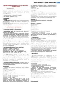 Farmacologia - Odontologia