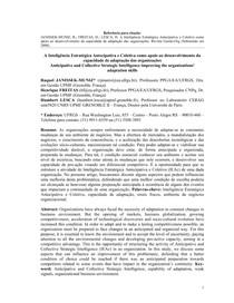 JANISSEK-MUNIZ et al - Desenvolvimento da Capacidade de Adaptação das Organizações
