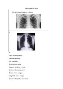 interpretação raio-x