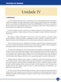 Psicologia Organizacional - Livro-Texto Unidade IV