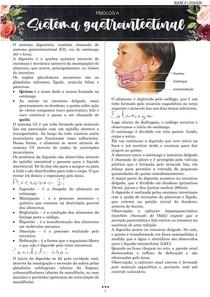 Fisiologia do sistema digestório completo