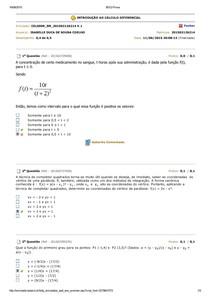 BDQ Prova 4(introdução ao cálculo)