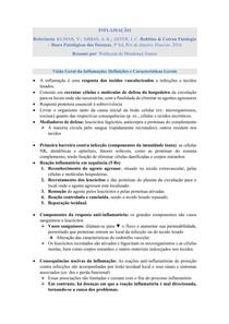 Inflamação - Patologia (Robbins & Cotran)
