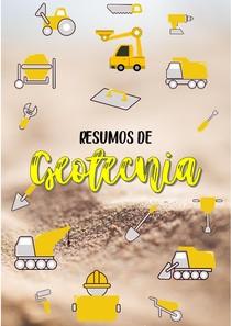 capa de caderno Engenharia Civil geotecnia