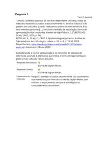 Bioestatística e Epidemiologia - Atividade 2
