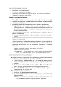 Anotações - Introdução ao Direito do Trabalho - Princípios do Direito do Trabalho docx