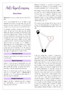 Anti-hipertensivos - Parte I