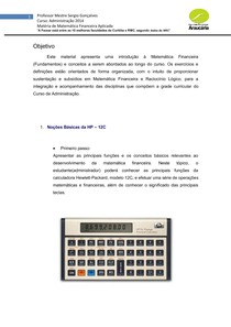 Apostila 1  Matemática Financeira