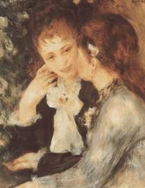 Renoir -Young Woman Talking
