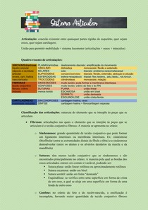 ANATOMIA HUMANA - SISTEMA ARTICULAR/ ARTROLOGIA