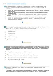 Aula 03  PROCESSOS DE DESENVOLVIMENTO DE SOFTWARE