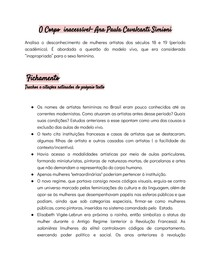 Fichamento- O Corpo inacessível- Ana Paula Cavalcanti Simioni