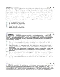 AV1 de Ciencias Sociais