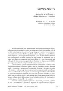 Escrita Acadêmica