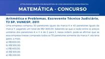 Matemática - Aritmética e Problemas