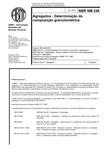 Agregados - Determinação da composição granulométrica (NBR NM 248/2003)