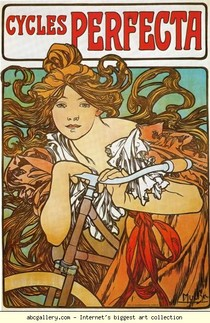Alphonse Mucha - Ciclos Perfecta