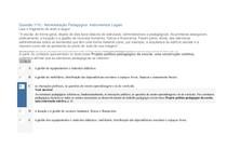 Administração Pedagógica Instrumentos Legais APOL 100