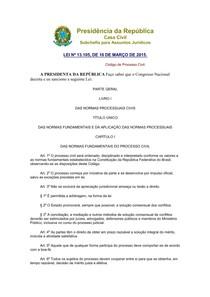 Código de Processo civil -  2015