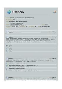 FÍSICA III AV3 GABARITANDO  2014