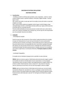 Anatomia Do Sistema Circulatorio Anatomia Humana I 2