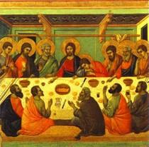 Duccio di Buoninsegna  - The Last Supper