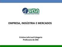 Empresa industria e mercado