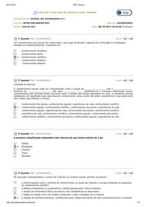 AV. PARCIAL CIÊNCIAS E ED. AMBIENTAL