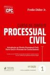Curso de Direito Processual Civil .v.1 (2017) - Fredie Didier Jr