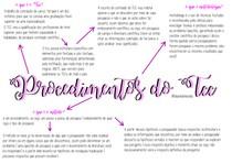 procedimentos do trabalho de conclusão de curso