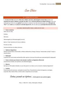 Caso Clínico - febre e exantema, diagnóstico etiológico