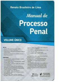 Manual de Processo Penal - Renato Brasileiro 2019
