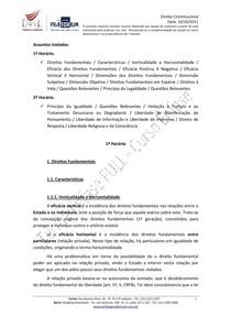 Resumo Direito Constitucional   Aula 10 (10.10.2011)