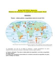 Revisão Discursivas - Urbanização e População