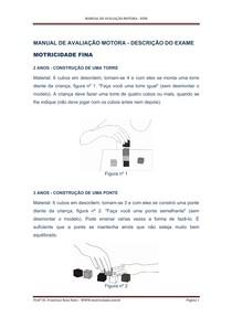 Manual Escala de Desenvolvimento Motor Rosa Neto