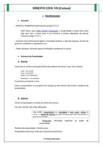 DIREITO CIVIL VII (COISAS)