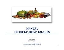 MANUAL DE DIETAS HOSPITALARES DE ROTINA !