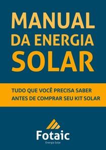 ef9ab28a1a1 Fotaic O Manual da Energia Solar - Geracao e Co-geracao de Ene