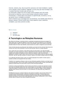 CEL0014-WL-LC-Tecnologia e Relacionamento Interpessoal