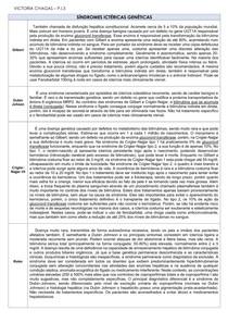 SÍNDROMES ICTERÍCIAS GENÉTICAS E SÍNDROMES POLIPOIDES FAMILIARES