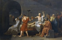 Jacques Louis David -The Death of Socrates