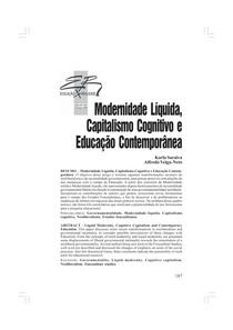 02 Modernidade líquida, capitalismo cognitivo e educação contemporânea