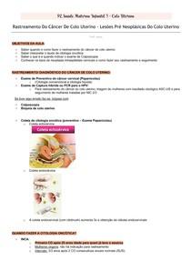 Rastreamento do câncer de colo uterino