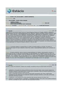 AV2 DIREITO AMBIENTAL 2014.1